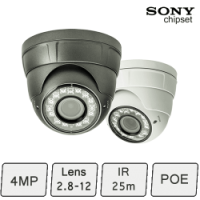 Vortec IP Dome Camera | Vandal Proof IP Camera (pro)