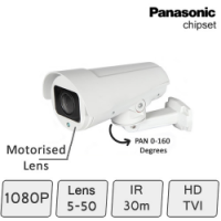 HD-TVI Camera with Motorised PAN and Zoom Lens   by DDS