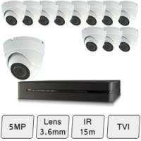 Discreet Dome Camera Kit | 5MP CCTV Kit