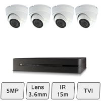 Discreet Dome Camera Kit | HD Dome CCTV Kit