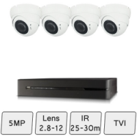 Eyeball Dome Camera Kit  | CCTV Kit