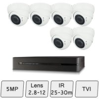 Eyeball Dome Camera Kit  | 5MP Dome Camera Kit