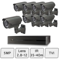 Mid-Range Box Camera Kit | HD CCTV Camera Kit  | HD 5MP CCTV Camera Kit