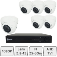 Eyeball Dome Camera Kit | HD CCTV Dome Camera Kit