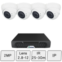 Eyeball Dome Camera Kit | IP CCTV