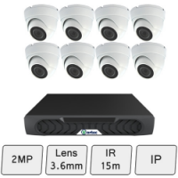 Discreet Dome Camera Kit | IP Security Camera Kit