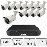 Day Night IP CCTV Security Camera Kit