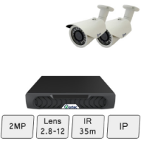Day Night Camera System | 2MP IP CCTV Systems