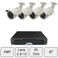 Day Night Camera System| IP Security Cameras