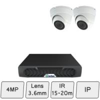 Discreet Dome Camera Kit | IP CCTV Dome Kit