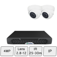 Eyeball Dome Camera Kit | IP Dome Kit