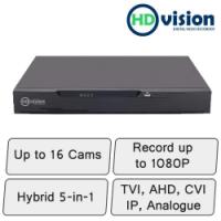 HD-Vision 16 Camera Hybrid DVR