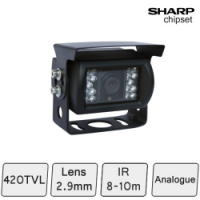 Rugged Night Vision Vehicle Camera