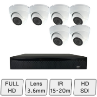 Full HD Discreet Dome Camera Kit | CCTV