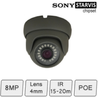8MP IP Eyeball Camera (4K) | Sony Starvis Chipset