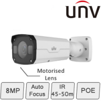 4K Motorised IP Camera (8MP, Smart, Motorised Lens)