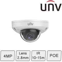 Mini IP Dome Camera (4MP, WDR, Mic)