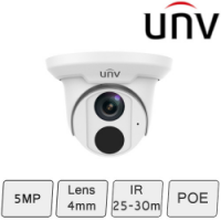 Turret Security Camera (5MP, Starview, True WDR, Mic) | UNV