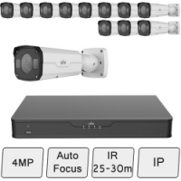 4MP Bullet Security Camera Kit (Vandal Resistant) | UNV