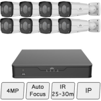 4MP Bullet Camera Kit (Vandal Resistant)