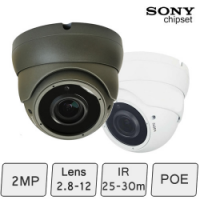 IP Dome Camera (KIP-779VR, 2MP, 30m, Sony Chipset)