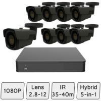 Long-Range HD Security System