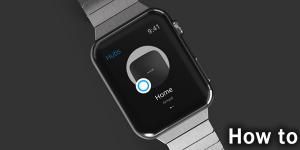 Using AJAX app on Apple Watch