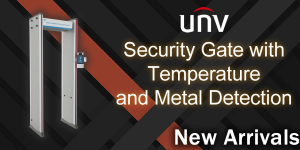 New Arrival: Security Gate with Temperature and Metal Detection