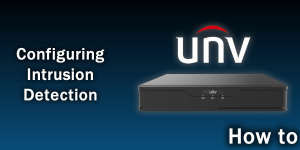 How toConfigure Intrusion Detection on UNV NVR