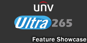 See how the Ultra265 helps UNV CCTV NVR recorders