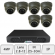 Eyeball Dome Camera Kit | IP Dome CCTV Kit