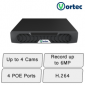 Vortec HD NVR (4Ch POE)   IP NVR Recorder
