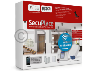Smart Home Wireless Alarm Panel by Risco (EL SecuPlace)