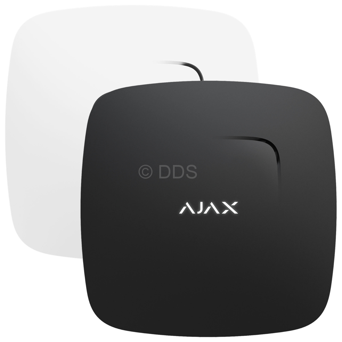 Ajax FireProtect Wireless fire detector with temperature sensor Registers smoke