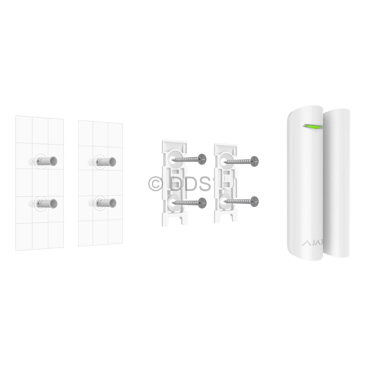 Installation of the Ajax DoorProtect Opening Detector