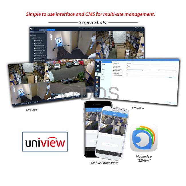 UNV NVR (8 Channel, 8 Port POE)   UNV Professional Range